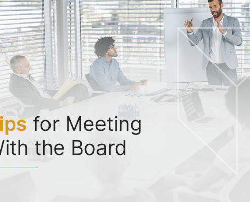 Tips for meeting with the board